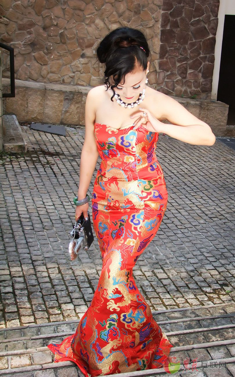 旗袍美女 花花世界